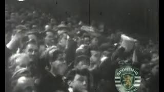 Manchester United - 4 x Sporting  - 1 de 1963/1964, Taça das Taças