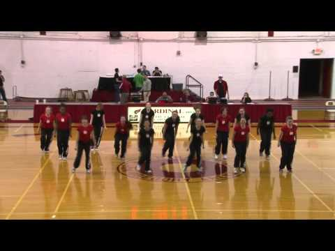 NCC Dance Team - T-Pain Chris Brown Freeze dance routine 2012 North Central College Naperville Il