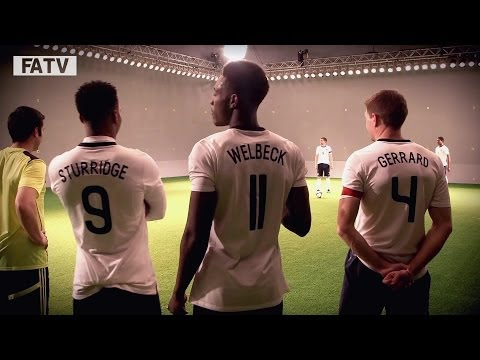 ON SET WITH GERRARD, WELBECK AND STURRIDGE: The England stars film the new Mars ad