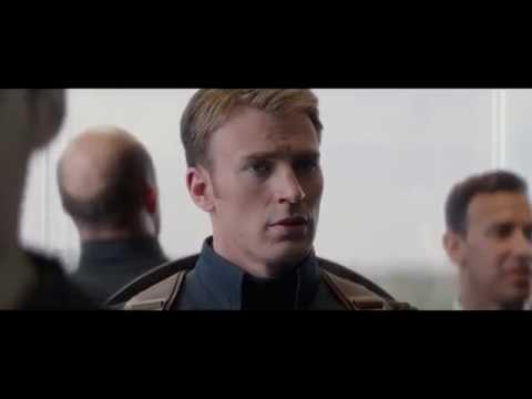 Captain america elevator fight [HD]