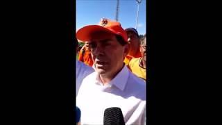 Em Brasília, trabalhadores dizem não às propostas das reformas
