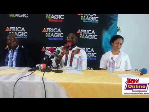Elikem Kumordzi - Press conference of Ghana's first ever Big Brother Africa reality show finalist