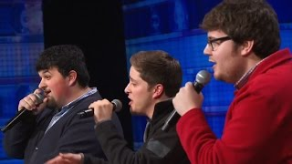 America's Got Talent 2015 S10E01 Triple Threat Sing To A Standing House