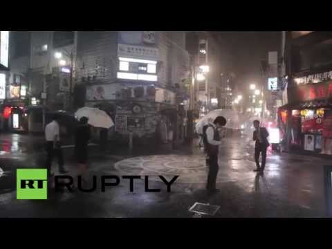Japan: Typhoon Neoguri strikes Kyushu, civilians on high-alert