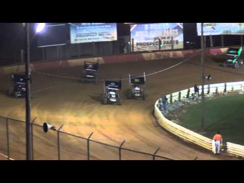 Lincoln Speedway 410 Sprint Car Highlights 10-12-13