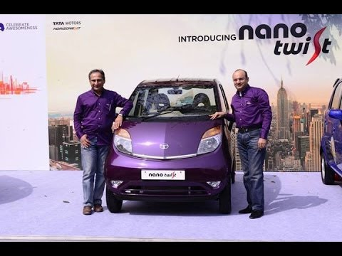 Tata Motors launches TheTata Nano Twist!