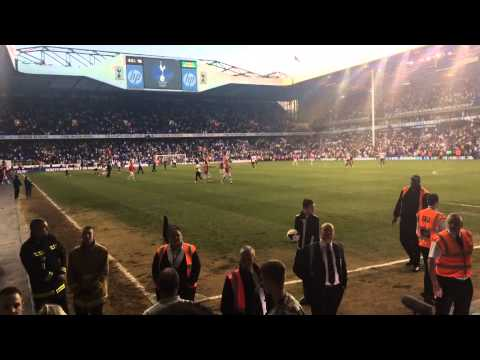 Tottenham 0 Arsenal 1 16/03/2014