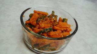 Gajar Ka Achar Video Recipe Instant Carrot Pickle