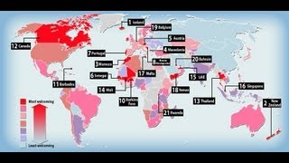 2013 Most vs Least Welcoming Countries (Top 15)