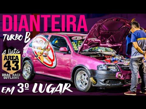 DIANTEIRA Turbo B de INJEPRO entre os TOP 3 da A Lista Área 43