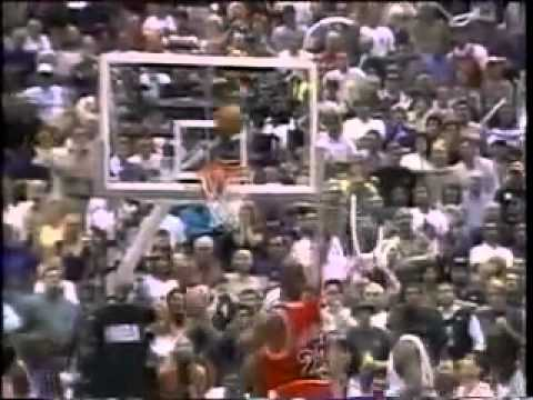 Michael Jordan Chicago Bulls 1998 Final Shot vs Utah Jazz to Win 6th NBA Championship
