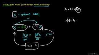 Naloga – računanje let 2