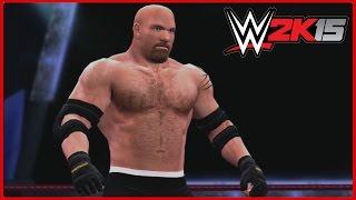 WWE 2K15 Created Superstars: Goldberg (3 Attires!) (Xbox