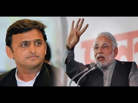 Narendra Modi and Akhilesh Yadav in catfight over Lions