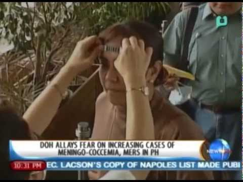 NewsLife: DOH allays fear on increasing cases of Meningococcemia, MERS-CoV in PH