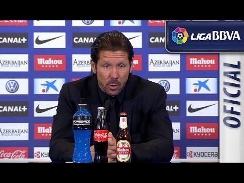 Rueda de Prensa de Simeone tras el Atlético de Madrid (4-0) Real Sociedad - HD