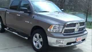 2009 DODGE RAM 1500 CREW CAB 4X4 BIG HORN EDITION FOR SALE SEE WWW SUNSETMILAN COM videos