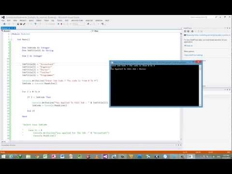 4- شرح فيجوال بيسك دوت نت 2012 - Visual Basic Dotnet 2012 Lesson 4