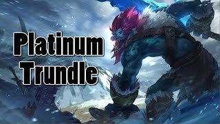 League of Legends - (Counter-Play) Platinum Trundle 4