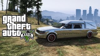 "GTA 5 Online Secret & Rare Vehicles ""Hearse"" How To"