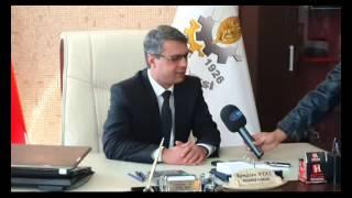 Dp Adayı Arsal Sarı Belediye Başkanı Ramazan Ayaz'ı Ziyaret Etti