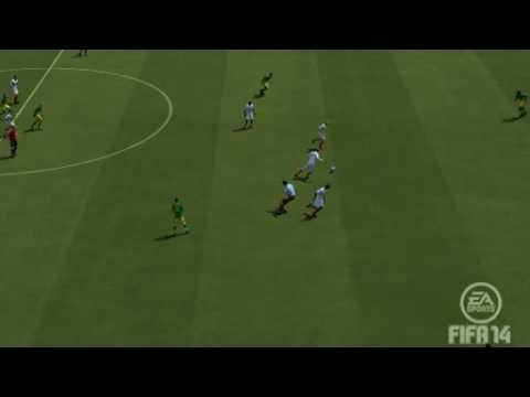 2014 07 09 Russ picking a hot dogging goalie clean and scoring from way downtown FIFA 14