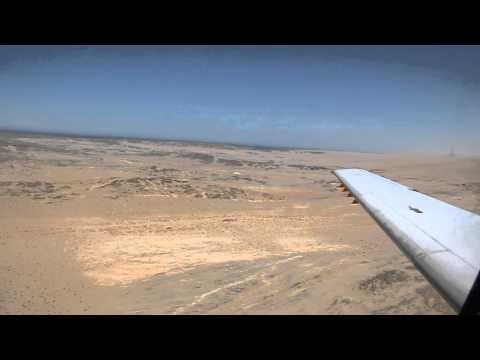 Landung in Lüderitz, Namibia