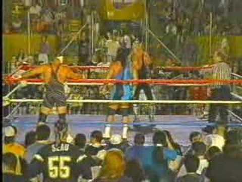 Steiner Brothers vs Dudley Dudley/Vampire Warrior