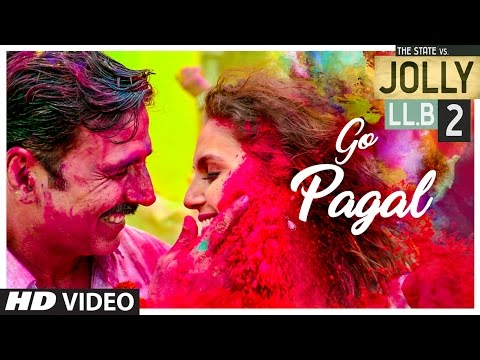 youtube video Jolly LLB 2 | GO PAGAL Video Song | Akshay Kumar,Huma Qureshi | Manj Musik Raftaar, Nindy Kaur to 3GP conversion