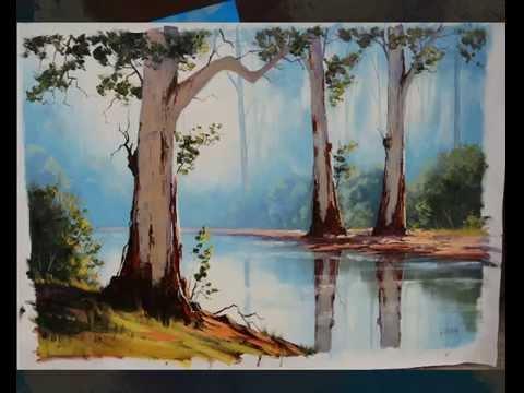 Atmospheric Oil Paintings By Graham Gercken