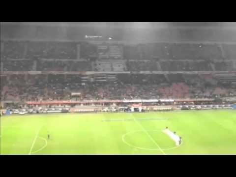 Ac Milan Vs Fiorentina 0-2 GOAL DALLA CURVA SUD (02 11 2013)