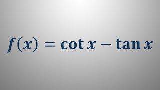 Odvod trigonometrične funkcije 2