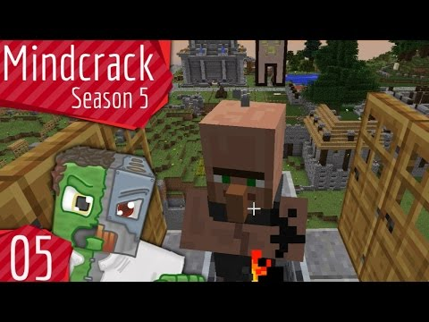 Infinite Villager Breeder - Mindcrack Server Season 5 - Episode 5 | Docm77