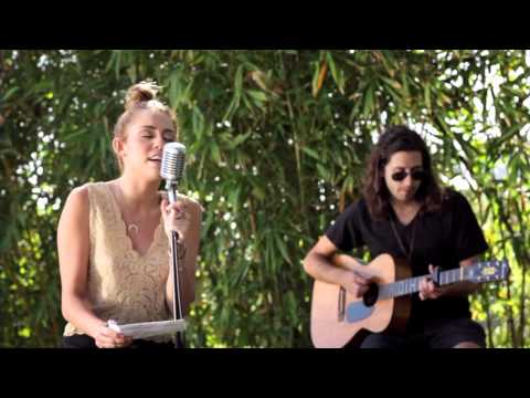 "Miley Cyrus -   ""Lilac Wine"", The ""Backyard Sessions"" took place earlier this summer when Miley brought her band together to perform some of her favorite songs. The first song is ""Lilac W..."