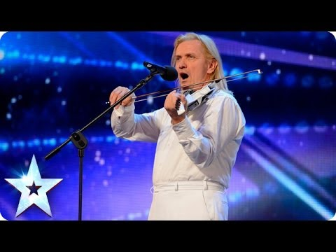 A Love Song On The Violin - Peter Panduranga | Britain's Got Talent 2014 (Short Version)
