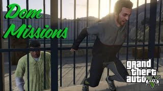 GTA 5 - All Dom Missions (Gold Medal) ¦ Risk Assessment, Liquidity Targeted Uncalculated Risk