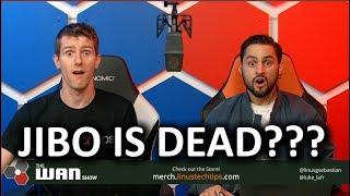 JIBO IS DEAD!?!? - The WAN Show Nov 30 2018