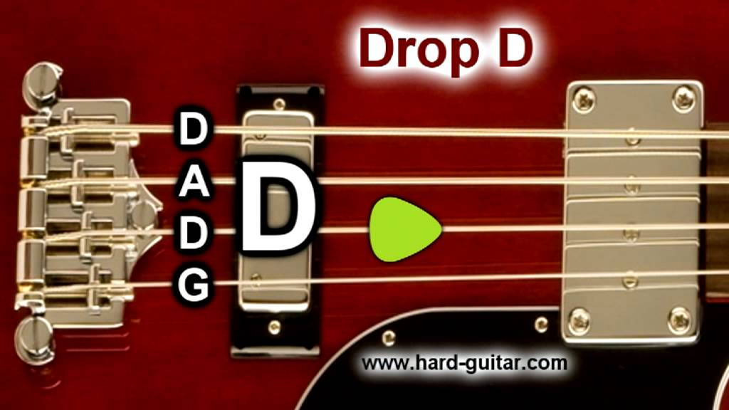 Drop D Bass Guitar Tuner D A D G Tuning For 4 Strings