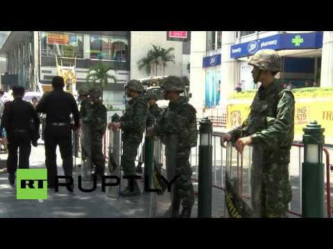 Thailand: Army on patrol ahead of anti-coup protest