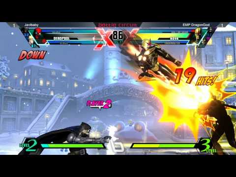 UMVC3 @ Next Level Battle Circuit #16 - Javibaby vs EMP DragonGod