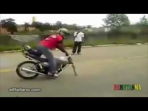 Accidentes en moto fails recopilacion 2013