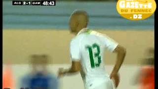 2e But D'Islam SLIMANI (son 4e En 3 Matchs) Vs Gambie