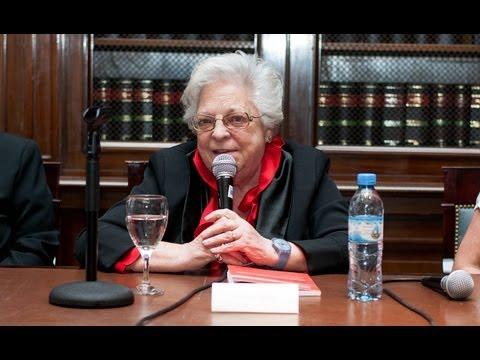 Carmen Argibay disertó en el acto por el 20° Aniversario de AMJA