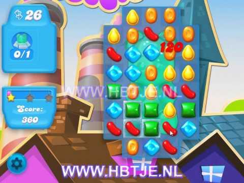Candy Crush Soda Saga level 1