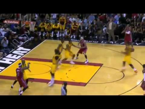 Ray Allen Reaches 24 000 Career Points   Cavaliers vs Heat   December 14  2013   NBA 2013 14 Season