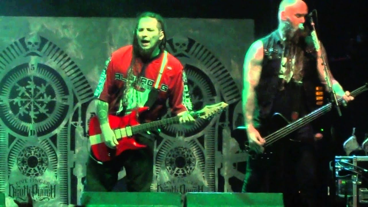 Hd coming down five finger death punch live glasgow o2 academy uk