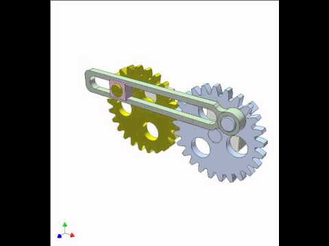 Gear and linkage mechanism 8a