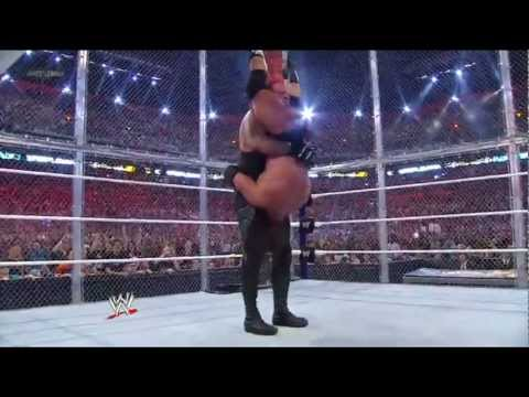 The Undertaker vs Triple H [Hell in a Cell] - Wrestlemania 28 Highlights HQ