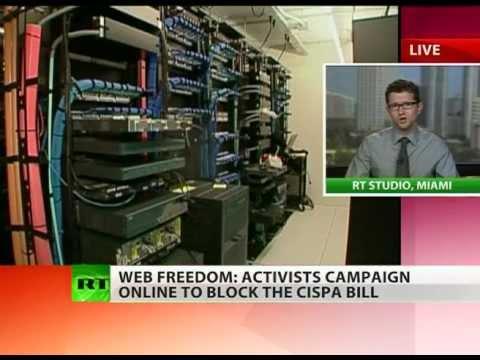 'CISPA pushed by spy & tech companies for profit'