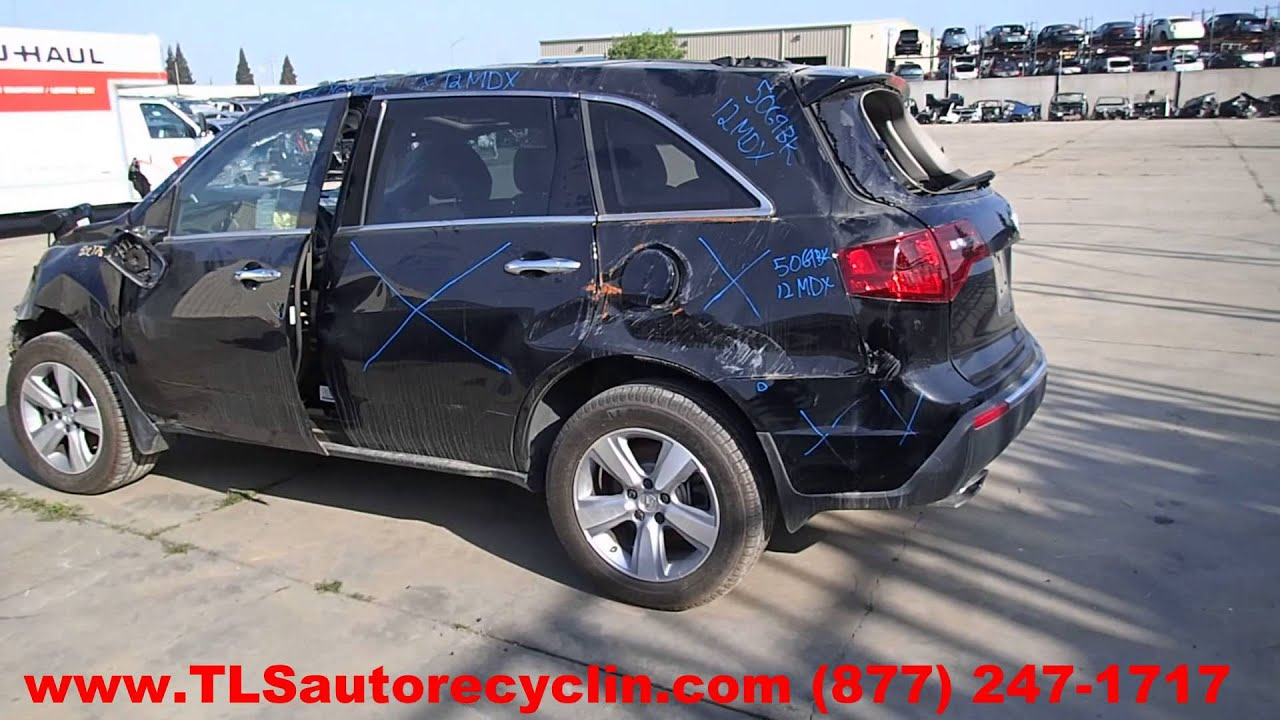 maxresdefault parting out 2012 acura mdx stock 5069bk tls auto recycling  at virtualis.co
